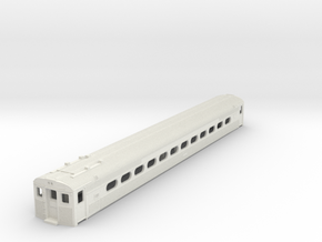 S Scale Budd Silverliner MU PRR Body Shell in White Natural Versatile Plastic