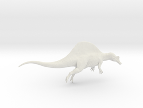 Dinosaur Spinosaurus 1:72 swimming in White Strong & Flexible