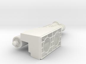 ES AFK COM in White Natural Versatile Plastic