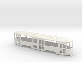 Konstal 105Na Beiwagen Wroclaw/Breslau in White Natural Versatile Plastic