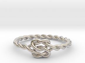 True Lover's Knot Ring in Platinum
