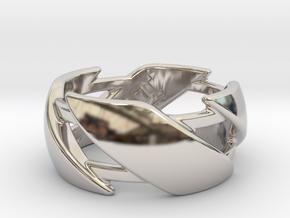 US8.5 Ring III in Platinum
