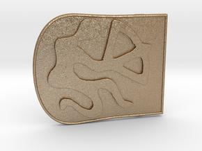 Zodiac3 in Matte Gold Steel
