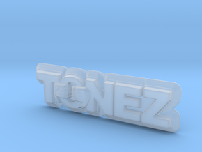 ToneZ Plate in Smooth Fine Detail Plastic