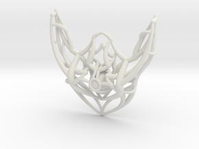 Cosmic Pendant in White Natural Versatile Plastic