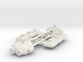 Mogorta Warship in White Natural Versatile Plastic