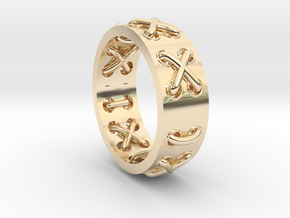 Lace-up Ring - Sz. 5 in 14K Yellow Gold