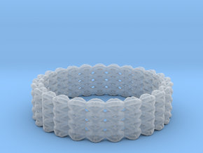 Kids FlexiBracelet in Smooth Fine Detail Plastic
