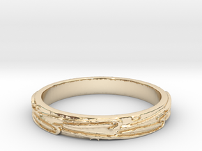 Ring of Love Know Boarders Ring Size 7.5 in 14K Yellow Gold