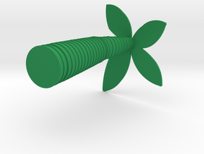 Desktop Palm Tree in Green Strong & Flexible Polished