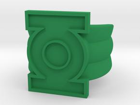 Honor Guard Single Band Sz 9 in Green Processed Versatile Plastic