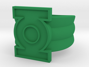 Honor Guard Single Band Sz 13 in Green Processed Versatile Plastic