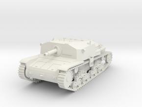 PV40 M40 Semovente 75/18 (1/48) in White Natural Versatile Plastic