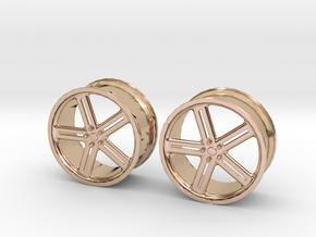 17 Inch Wheel in 14k Rose Gold