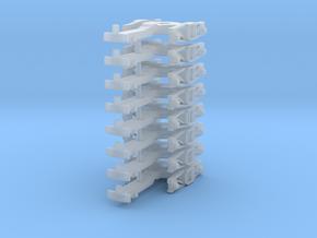 ZB (H0e) - 4P Drehgestelle für 4-ax Gw (alt) in Smooth Fine Detail Plastic