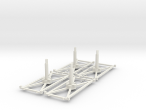 Stand Long x4 3.0 in White Strong & Flexible