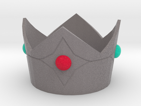Princess Rosalina cosplay mini crown in Full Color Sandstone