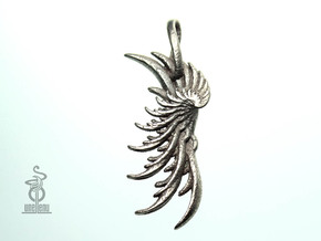 Pendant : Wing in Stainless Steel