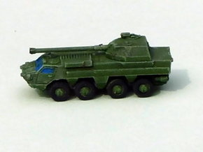 Ukranian APC BTR-4 MGS 1/285 in Smooth Fine Detail Plastic
