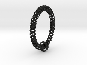 Cubichain Bracelet in Black Strong & Flexible