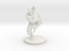 Yoshimitsu (4.4in - 11.2cm) in White Natural Versatile Plastic
