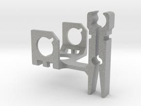 ZenClip - DJI Phantom 2 - Zenmuse H3-3D in Metallic Plastic