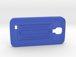Galaxy S4 Football in Blue Processed Versatile Plastic