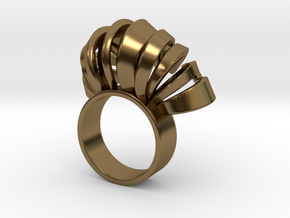 Nasu Ring Size 7 in Polished Bronze