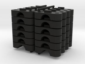 TKSH-0800-SET in Black Natural Versatile Plastic