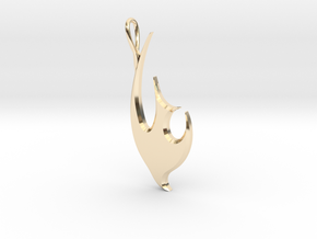 Dove - 2 in 14K Yellow Gold
