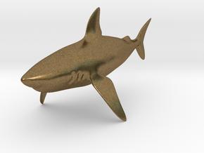 Shark in Natural Bronze