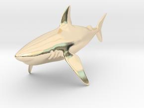 Shark in 14K Yellow Gold