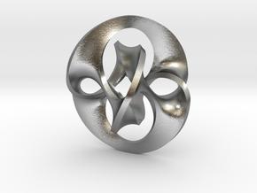 Antichron Pendant for Precious Metals in Raw Silver