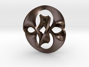 Antichron Pendant for Steel in Polished Bronze Steel
