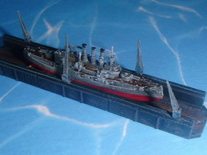 SCHWIMMDOCK A, FLOATING DOCK A 1/2400 in Frosted Ultra Detail