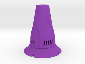 Vase mini in Purple Processed Versatile Plastic