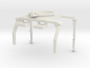 1/87 MTVR Roll Bar/ turret in White Natural Versatile Plastic