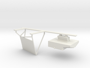08-Landing Radar in White Natural Versatile Plastic