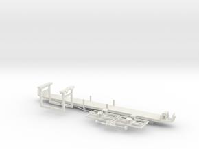 sl1 Wiener Linien Arbeitsbeiwagen in White Natural Versatile Plastic