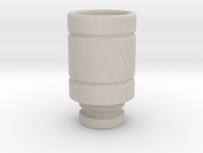 Magma styled drip tip in Natural Sandstone
