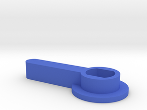 HOUR HAND PLASTIC in Blue Strong & Flexible Polished