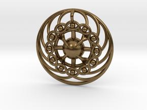 Nexus Eye Mandala in Natural Bronze