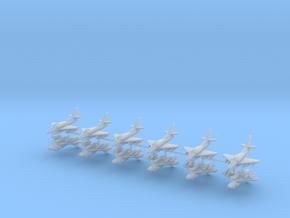 1/400 A-4G Skyhawk (x12) in Smooth Fine Detail Plastic