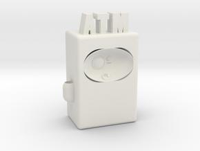 "ATM Future 4"" version in White Natural Versatile Plastic"