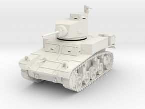 PV27 M3 Stuart Light Tank (1/48) in White Strong & Flexible
