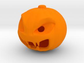 Pumpkin in Orange Processed Versatile Plastic