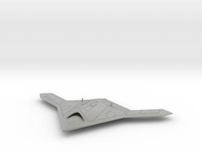 X-47B ucav (scale 1/72) in Metallic Plastic