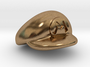 M-Plumber Cap in Natural Brass