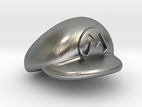 M-Plumber Cap in Natural Silver