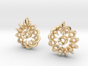 Ear Ring Pendant3 in 14K Yellow Gold